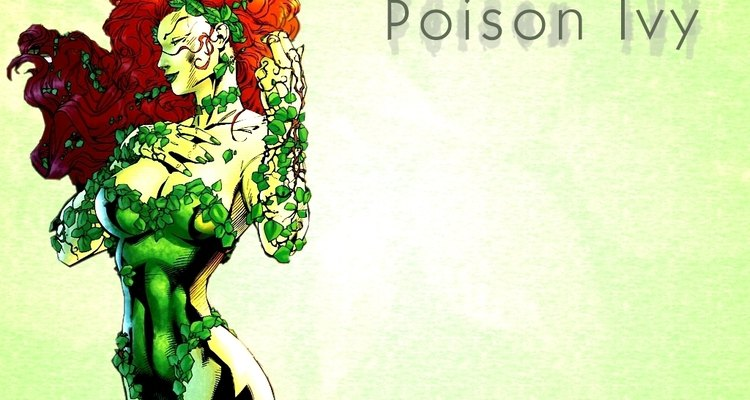 The seductive and deadly Poison Ivy