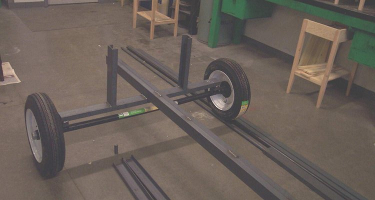 Firewood processor chassis