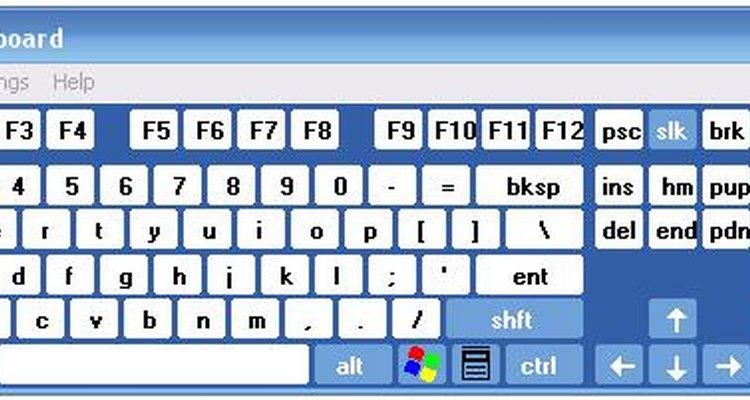 Existem alguns passos que você pode fazer para desbloquear o teclado do computador