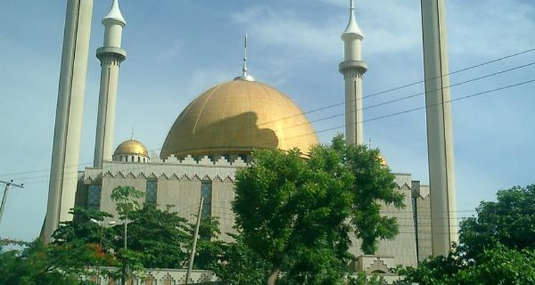 Abuja National Mosque, Nigeria.
