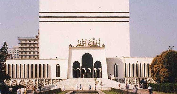 Bayt al Mukarram mosque in Bangladesh.