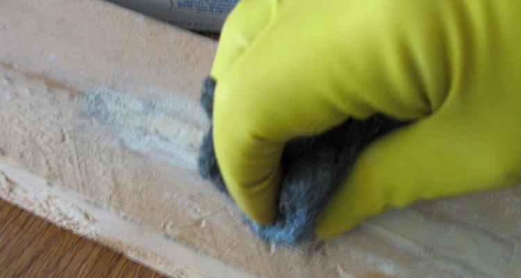 Using steel wool