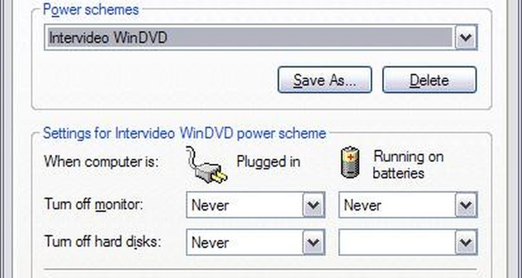 Você pode modificar as configurações de energia para seu monitor