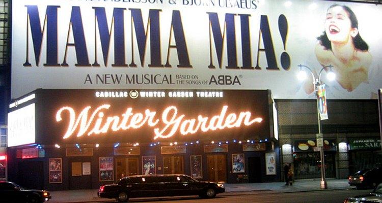 El teatro Winter Garden de Broadway.