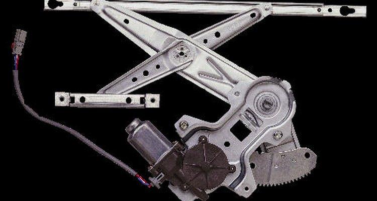 Partes mecânicas das janelas do carro