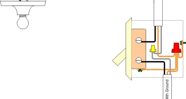 Common Single Pole Light Switch Circuit