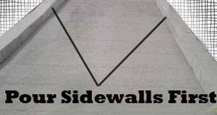 Concrete sidewalls