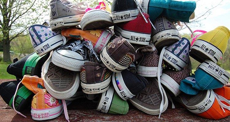 Las zapatillas Converse tienen una gran variedad de colores y estilos.