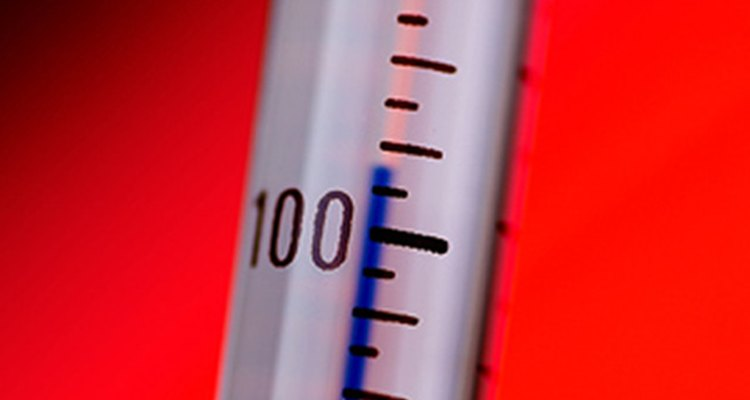 Conventional glass thermometers can be hard to read.