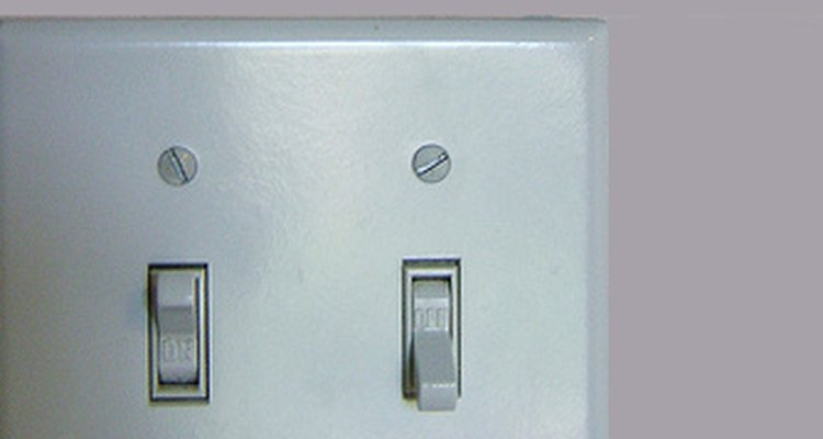 Switches control the lighting in our homes.