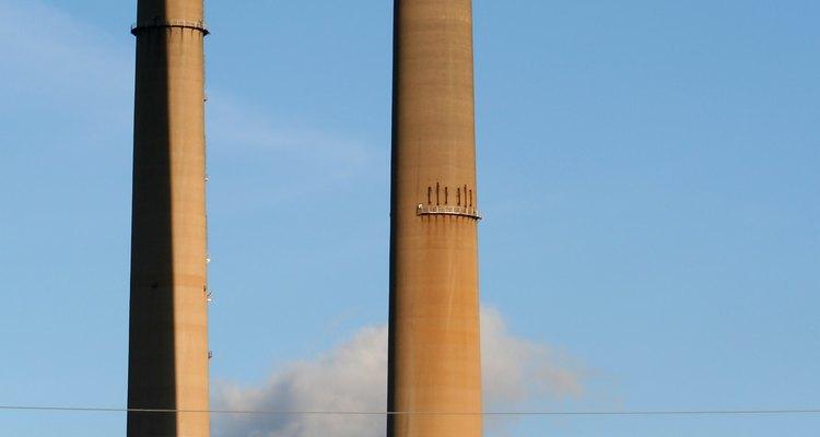 Columbus Southern Power Co. smoke stacks