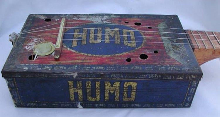 sound holes on a cigar box ukulele