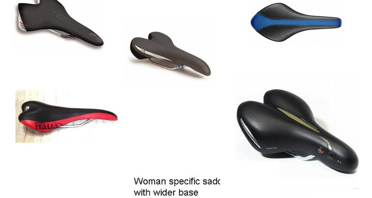 Get a saddle that suits your rear.