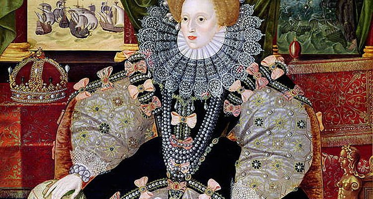 Ruffs were fashionable in the Elizabethan period.