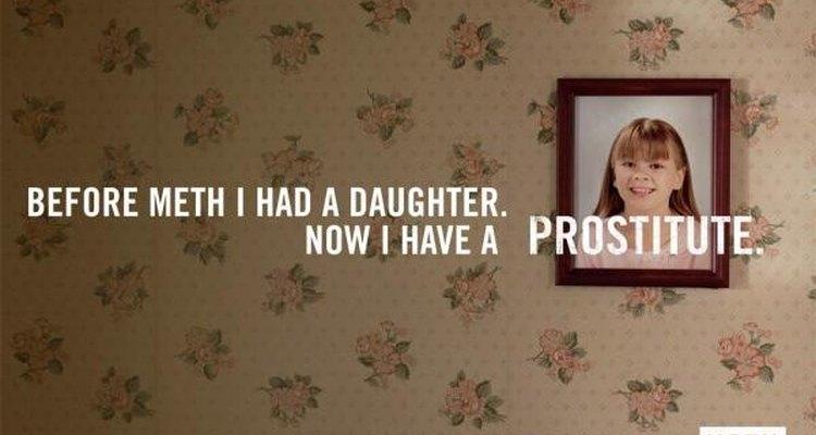 En esta oportunidad, el Meth Project utilizó imágenes más sutiles para transmitir un mensaje anti drogas.
