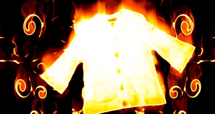 Remove unsightly burn holes from your favourite clothes.