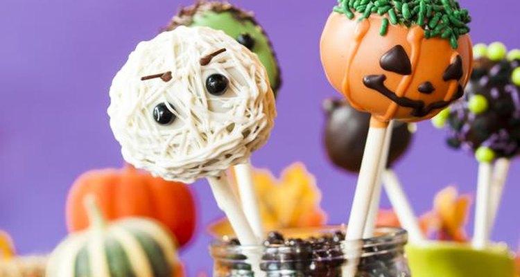 Dulces de Halloween.