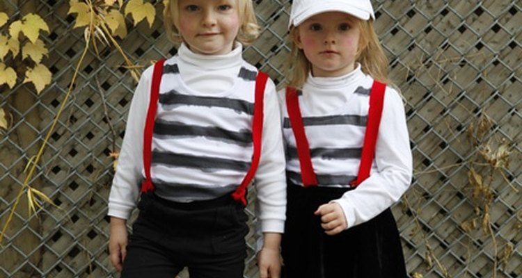 The comical Tweedles are not a far cry from a playful pair of twin boys.