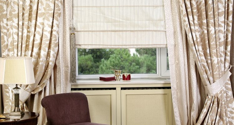 New curtains often arrive wrinkled.