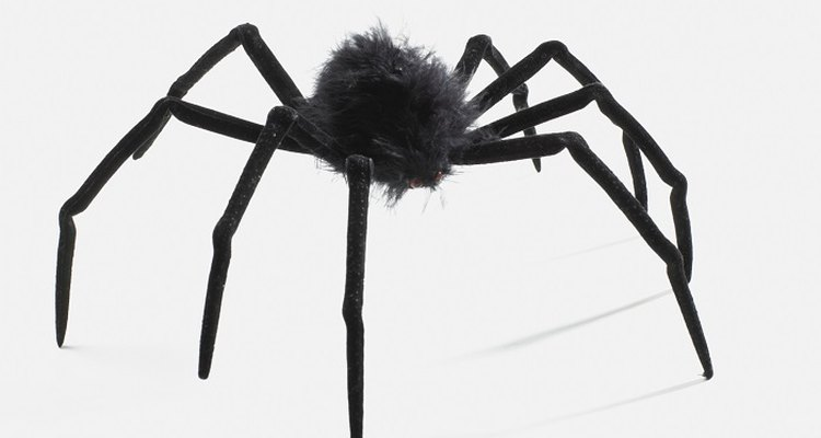 Making a 3D spider requires only a few basic craft supplies.