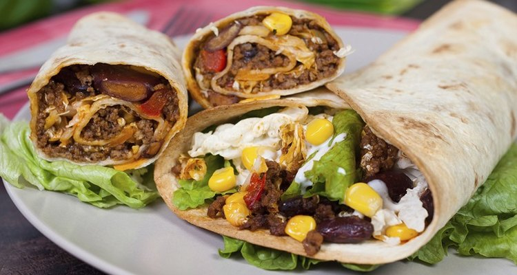 A well wrapped fajita is easier to hold and eat.