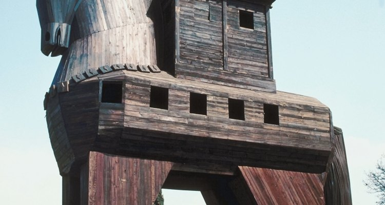 The Trojan Horse was the key to Achaean victory in the Trojan War.