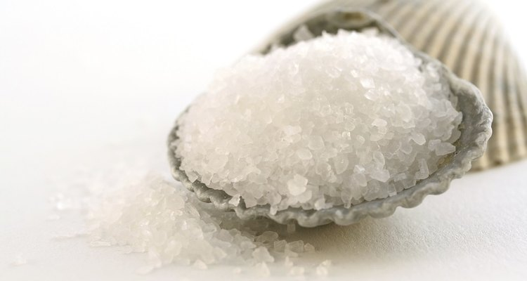 Sea salt contains many minerals besides sodium chloride.
