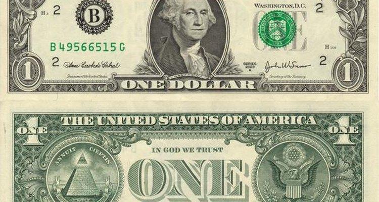 El billete de un dólar norteamericano está diseñado según los cánones Masones.
