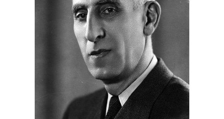 Mohammed Mosaddeq.