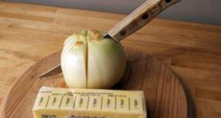 Cómo asar cebollas