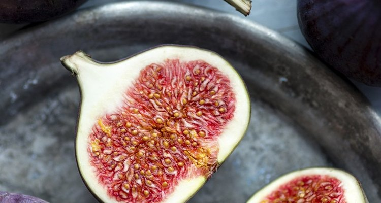 Fresh figs have a sweet flavour not dissimilar to toffee.