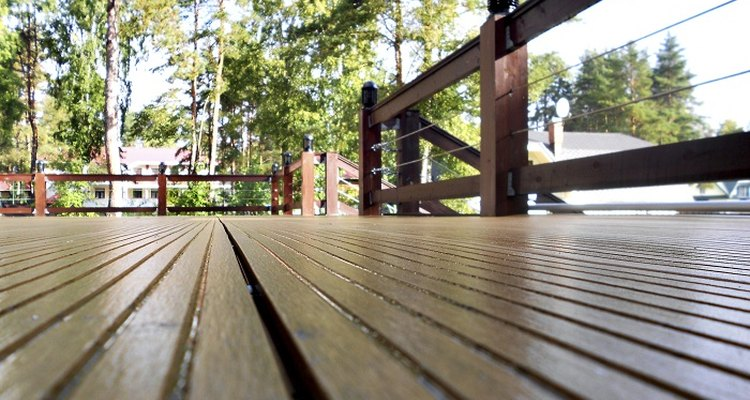 Replacing rotten joists will extend the life of your decking.