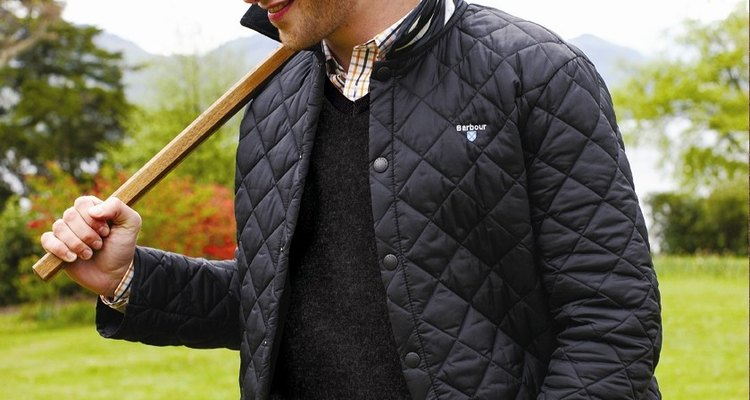 How to clean your Barbour quilted jacket