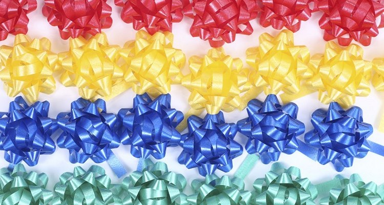 Making hair bows for presents or profit is fun and easy to do.