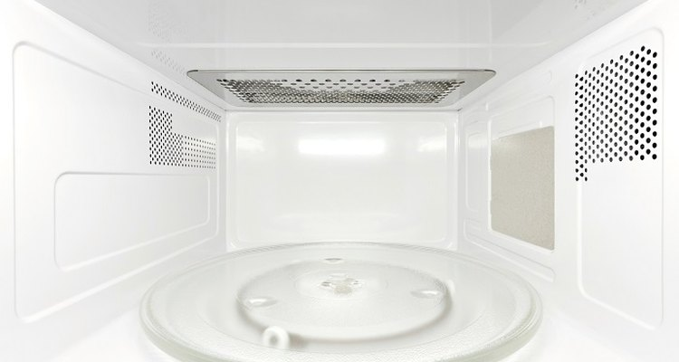 Get the inside of your microwave oven clean and shiny again.