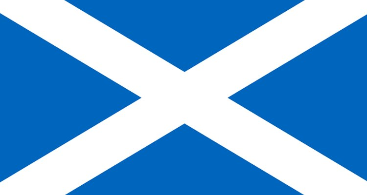 Scotland's flag is called