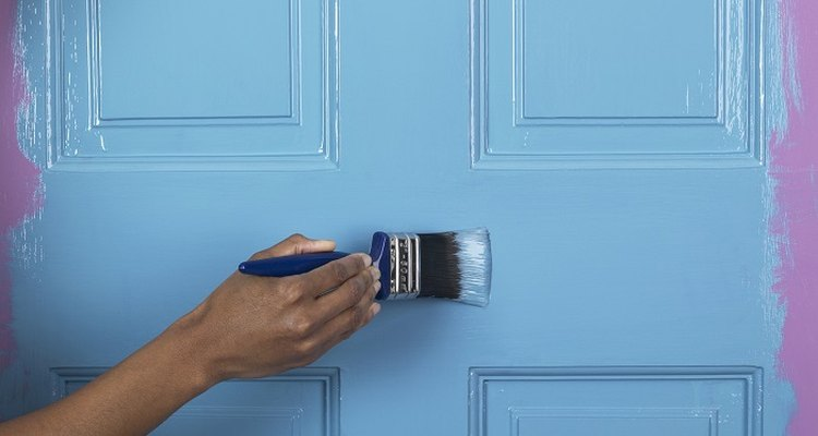 Smarten up your house by painting the doors.