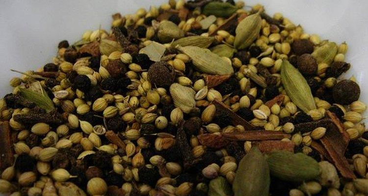El Garam Masala es un recurso frecuentemente utilizado en la gastronomía india.