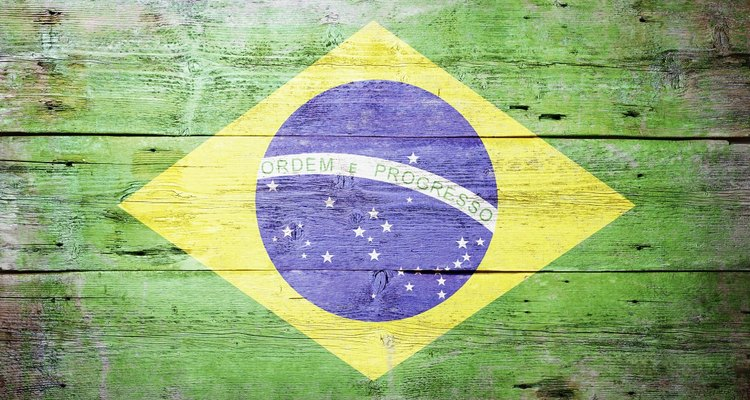 Studying the Brazilian flag can help kids learn Brazil's history.