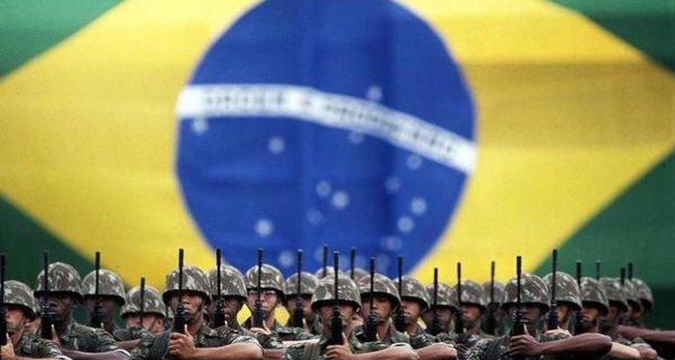 Fuerzas militares de Brasil.