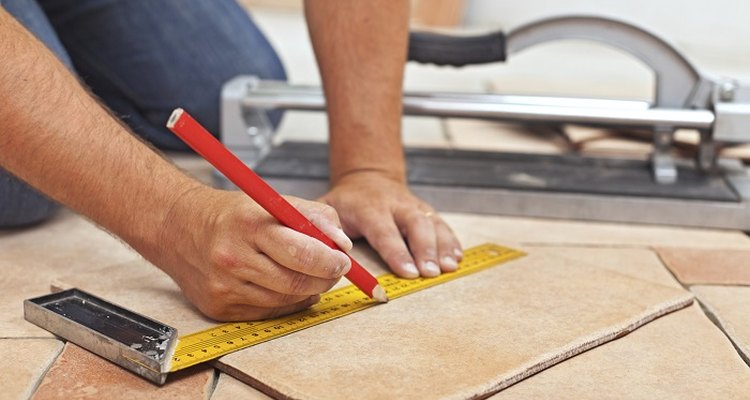 Measure, mark and cut quarry tiles accurately for a perfect fit on your floor.