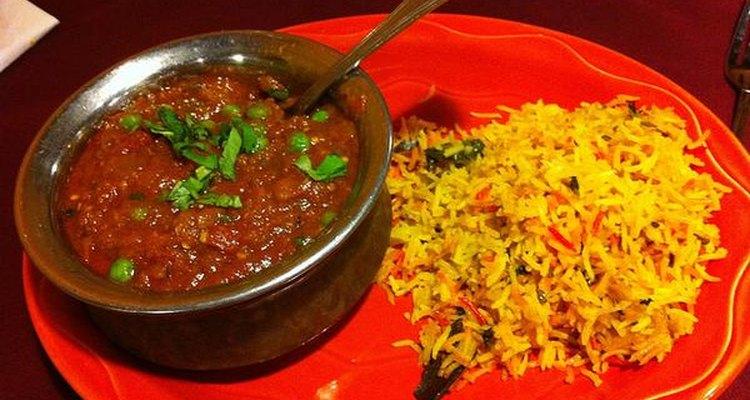 El Madras es un curry en polvo que posee un alto grado de chile molido.