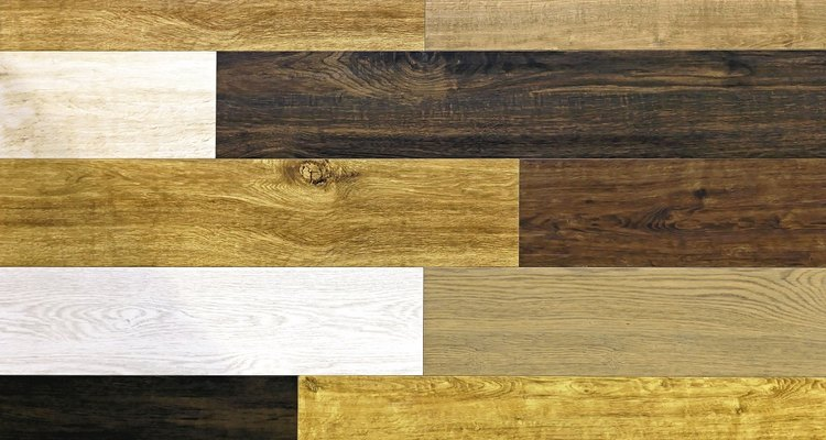 Stain lighter laminate for a darker finish.