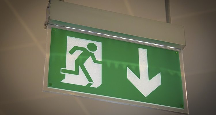 Fire escape routes, including aisles and corridors, must meet a minimum width.