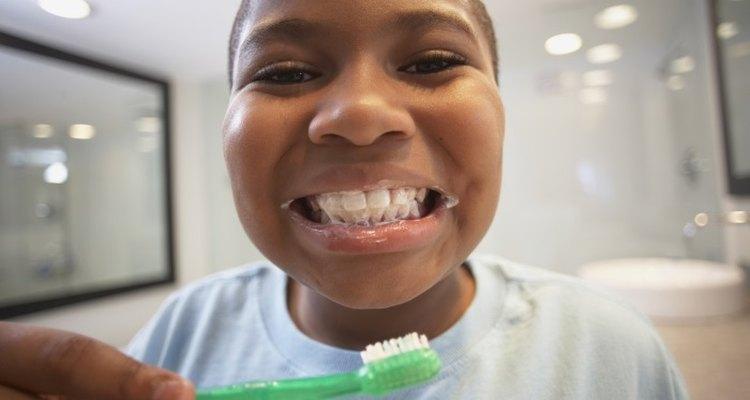 Prevent plaque buildup with regular brushing.