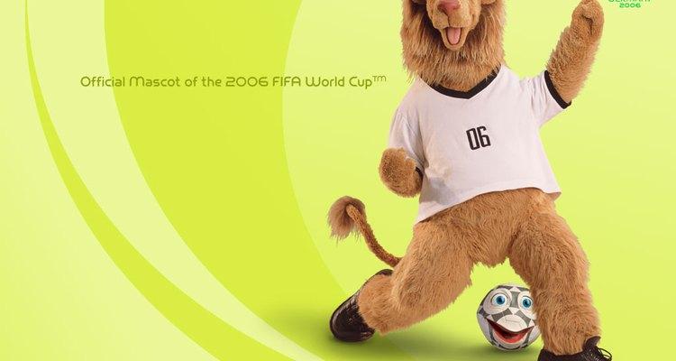 Uma bola falante e um leão foram os mascotes oficiais da Copa do Mundo da Alemanha