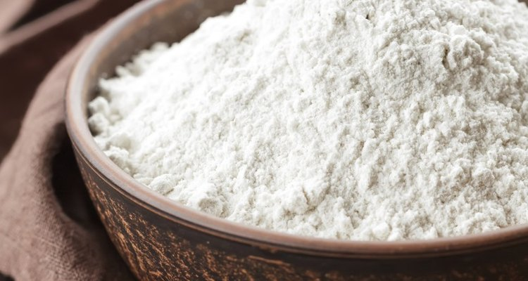 Measuring flour carefully allows you to weigh it without a scale.