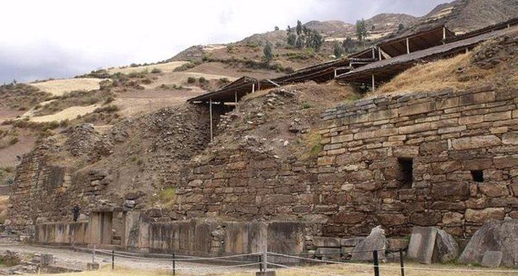 Pasillos en Huantar.