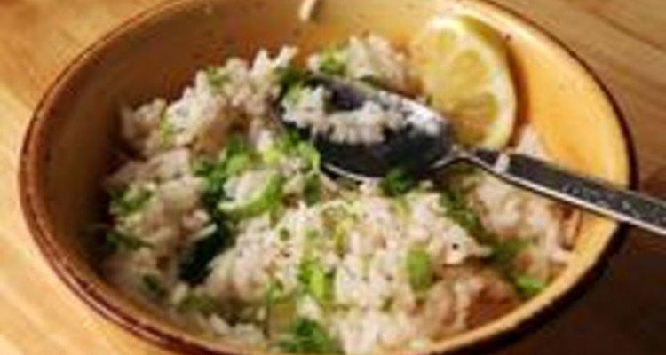 El cilantro fresco es un ingrediente clave en la receta de arroz de Chipotle.