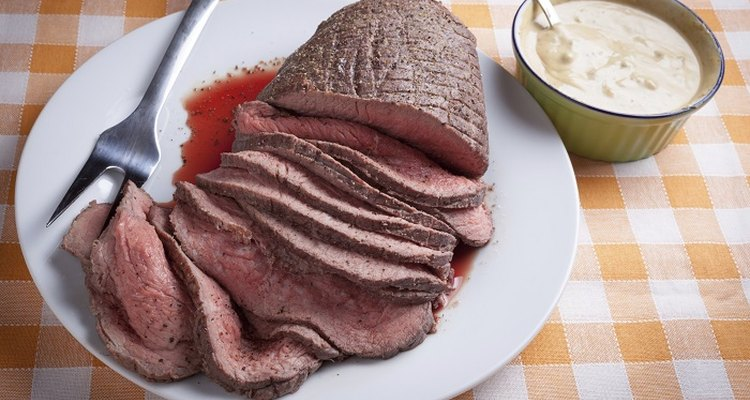 Reheating rare roast beef is challenging but possible.